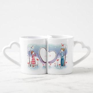 Tasse de café de couples