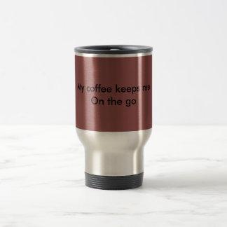 Tasse de café de déplacement