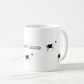 Tasse de café de domestique de chèvre