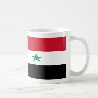 Tasse de café de drapeau de la Syrie