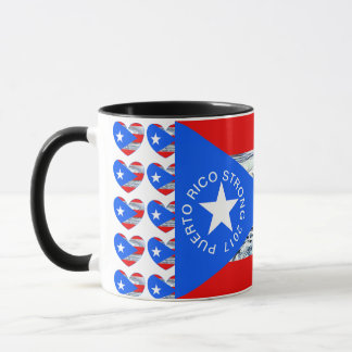 Tasse de café de drapeau d'ouragan fort de PORTO