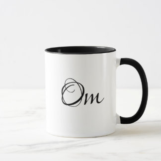 Tasse de café de femme de yoga de méditation de