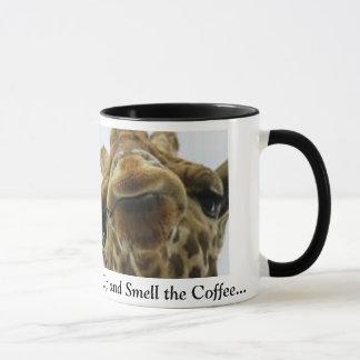 Tasse de café de girafe
