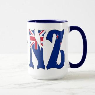 Tasse de café de la Nouvelle Zélande