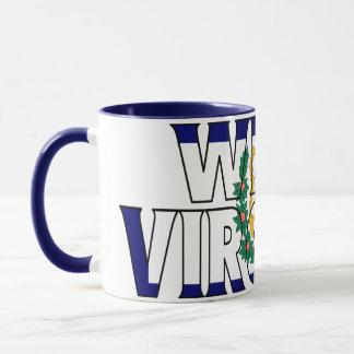 Tasse de café de la Virginie Occidentale