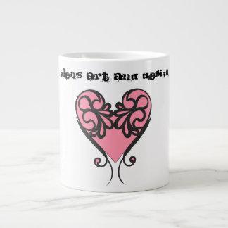 Tasse de café de l'art et de la conception des