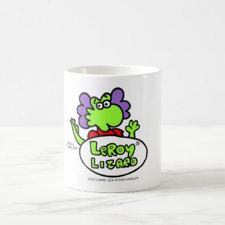 Tasse de café de lézard de Leroy