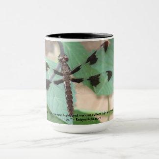 Tasse de café de libellule