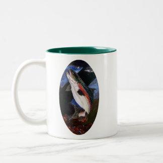 Tasse de café de literie de truite