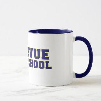 Tasse de café de lycée de Bellevue