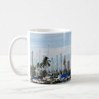 Tasse de café de marina de Moana d'aile du nez
