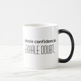 Tasse de café de motivation de matin