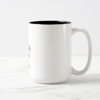 Tasse de café de motivation de nouveauté de