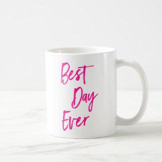 Tasse de café de motivation des meilleures roses