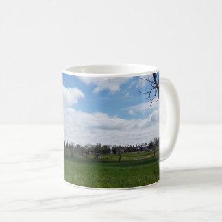 Tasse de café de PA de champ de bataille de