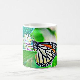 Tasse de café de papillon de monarque/tasse