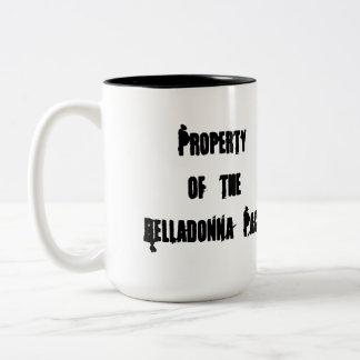 Tasse de café de paquet de belladone
