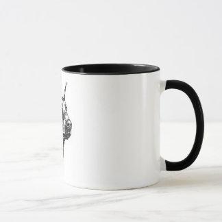 Tasse de café de Pinscher de dobermann