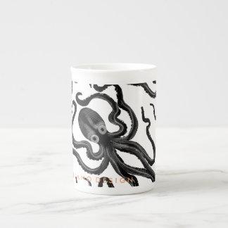 Tasse de café de poulpe - porcelaine tendre