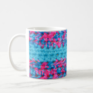 Tasse de café de regard de crochet