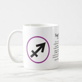 Tasse de café de Sagittaire