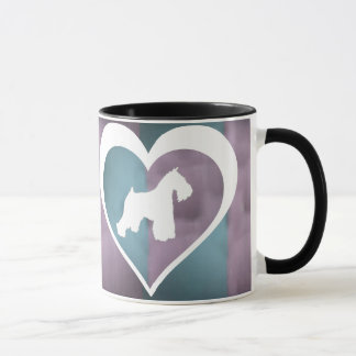 Tasse de café de Schnauzer