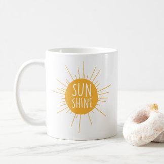 Tasse de café de soleil