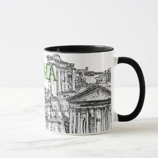 tasse de café de souvenir de voyage de Rome -