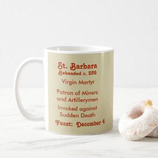 Tasse de café de St Barbara (BK 001) #1c