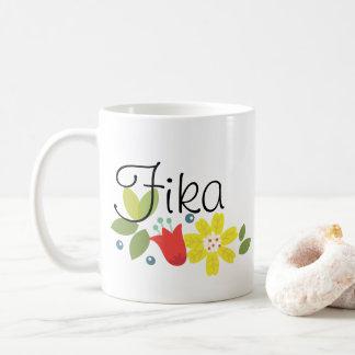 Tasse de café de temps de Fika