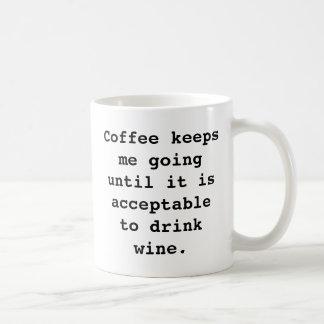 Tasse de café de vin