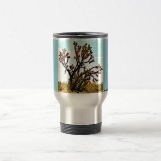Tasse de café de voyage d'arbre de Joshua