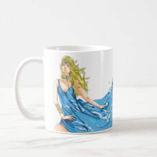 Tasse de café d'Elf de l'eau d'imaginaire