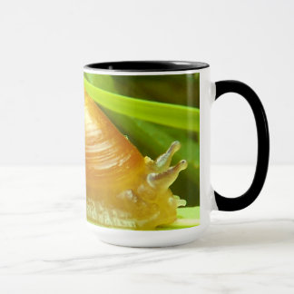 Tasse de café d'escargot