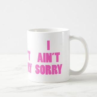 Tasse de café désolée de l'aint I