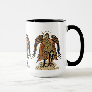 Tasse de café d'Ivan Bilibin Arkhangel Michael