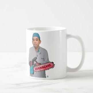 Tasse de café d'Obamacare