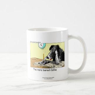 Tasse de café drôle de border collie