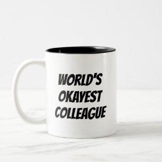 Tasse de café drôle de citation de collègue