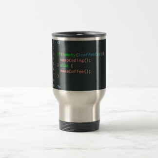 Tasse de café du besoin - informaticien de PHP