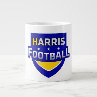 Tasse de café du football de Harris