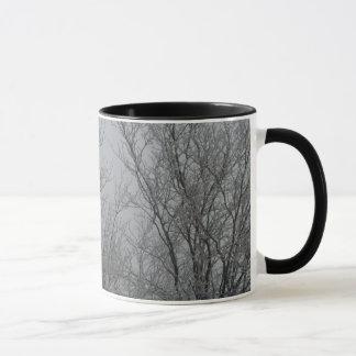 Tasse de café du pays des merveilles d'hiver