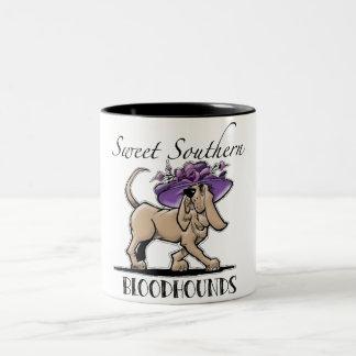 Tasse de café du sud douce de limier