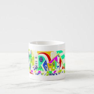 Tasse de café express de Colourfull