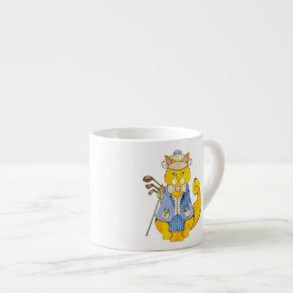 Tasse de café express de golfeur
