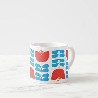 Tasse de café express de tulipe