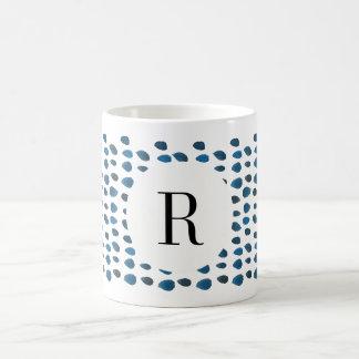 Tasse de café faite sur commande d'aquarelle