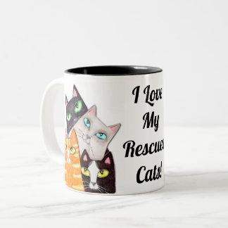 Tasse de café faite sur commande de Kitty de
