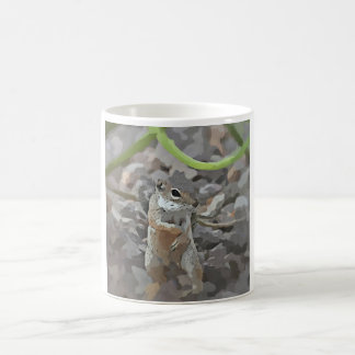 Tasse de café géniale d'écureuil moulu de Mikey
