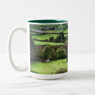 Tasse de café irlandaise de site de pays